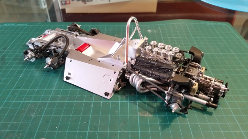 tamiya - Tamiya 1/12 Tyrrell P34 static model build 20150721