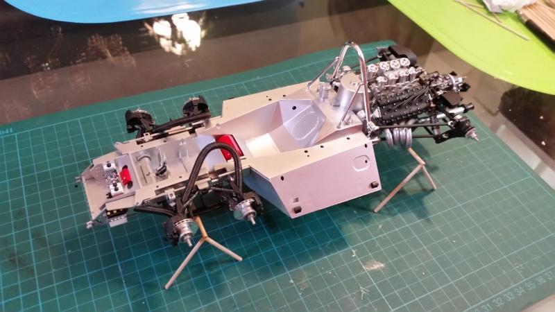 tamiya - Tamiya 1/12 Tyrrell P34 static model build 20150725
