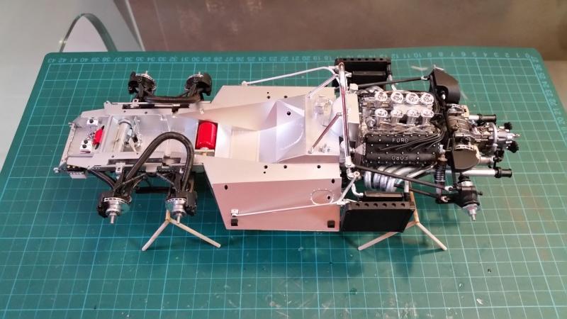 tamiya - Tamiya 1/12 Tyrrell P34 static model build 20150726