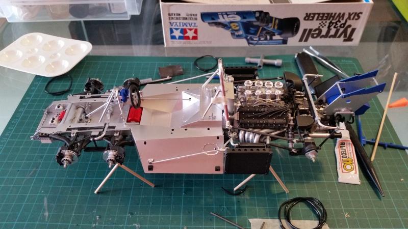 tamiya - Tamiya 1/12 Tyrrell P34 static model build 20150728