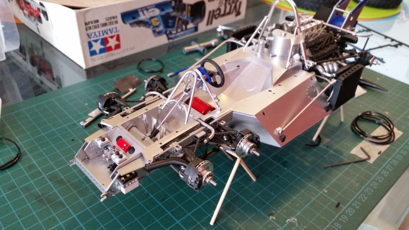 tamiya - Tamiya 1/12 Tyrrell P34 static model build 20150729
