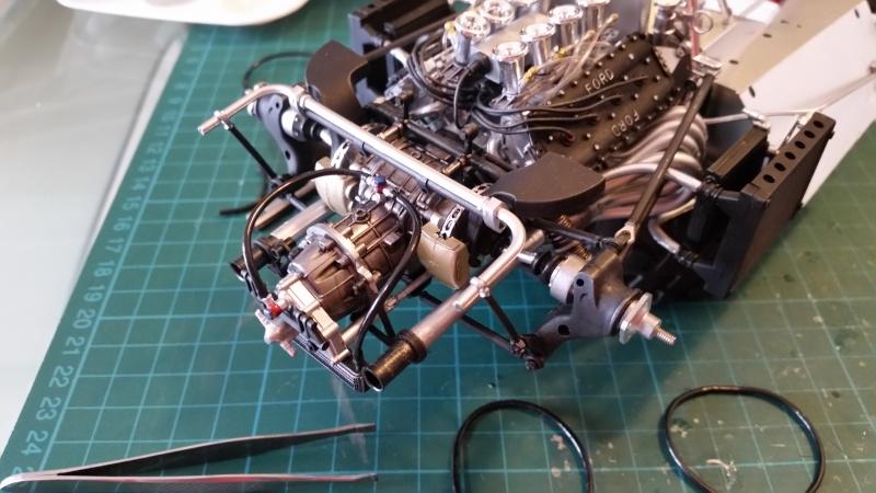 tamiya - Tamiya 1/12 Tyrrell P34 static model build 20150731