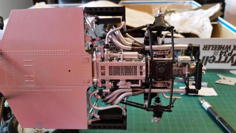 tamiya - Tamiya 1/12 Tyrrell P34 static model build 20150732