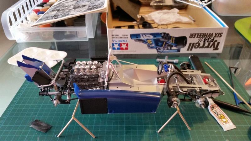 tamiya - Tamiya 1/12 Tyrrell P34 static model build 20150736