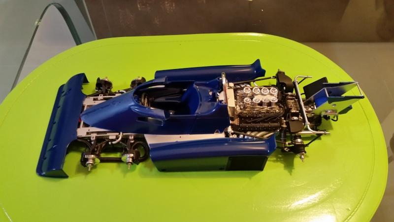 tamiya - Tamiya 1/12 Tyrrell P34 static model build 20150772