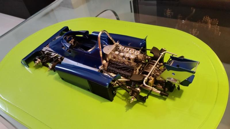 tamiya - Tamiya 1/12 Tyrrell P34 static model build 20150773