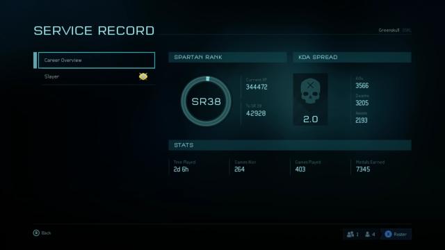 Grades de Halo 5: Guardians (Halo 5/Ranking system/Rank/SR/Challenge/50/Points Spartan/Défi/Onyx/Recommendation/Commendation/Approbation/Astuce XP/Niveau/Jackpot/Crédit/Classement/Division/cR/Etoile/Arène/Arena) Captur15