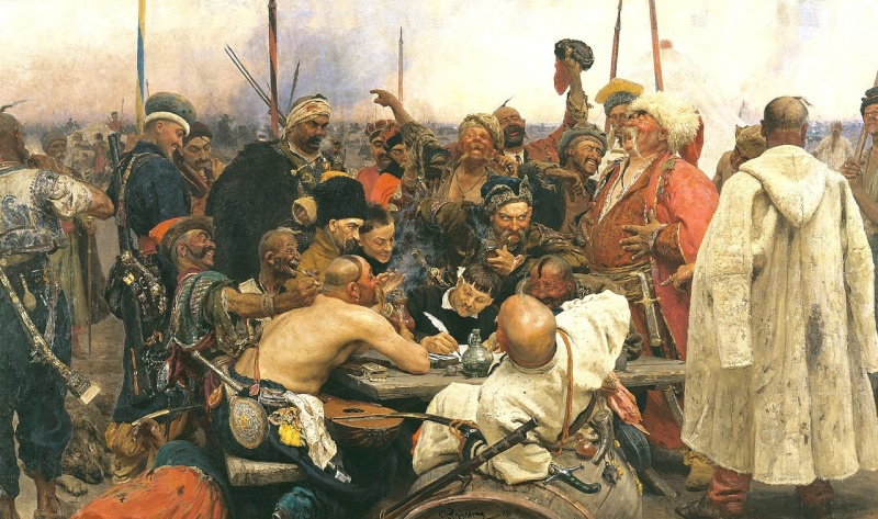 Célébration de Zaporozhye Cosaques, 17e siècle 1280px10