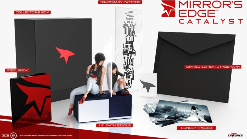 Mirror's Edge Catalyst Edition Collector Mirror11
