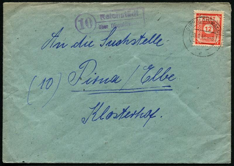 Deutschland  -  Landpoststempel (Poststellenstempel) Postst16