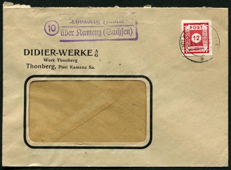 1945 - Deutschland  -  Landpoststempel (Poststellenstempel) Postst17