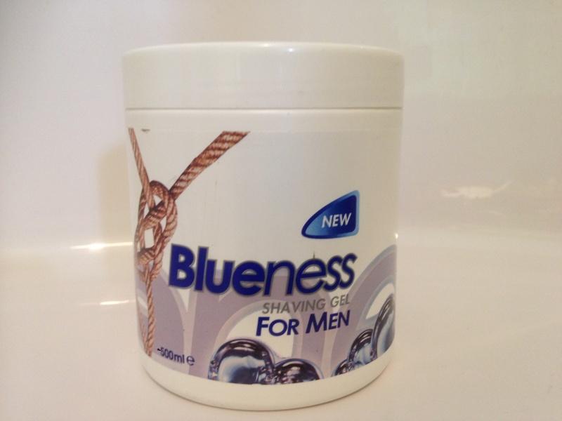 Blueness shaving gel 2015-029
