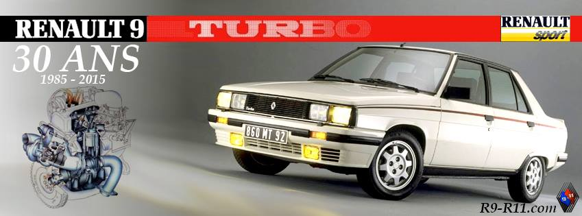 Les 30 ans de la Renault 9 TURBO 11737912
