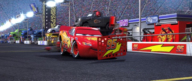 Custom ou pas) Lighting Mcqueen Crew Chief 110