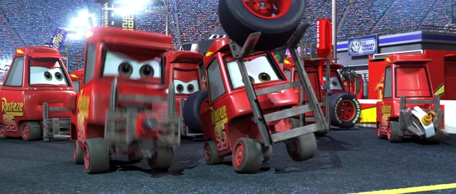 Custom ou pas) Lighting Mcqueen Crew Chief 210
