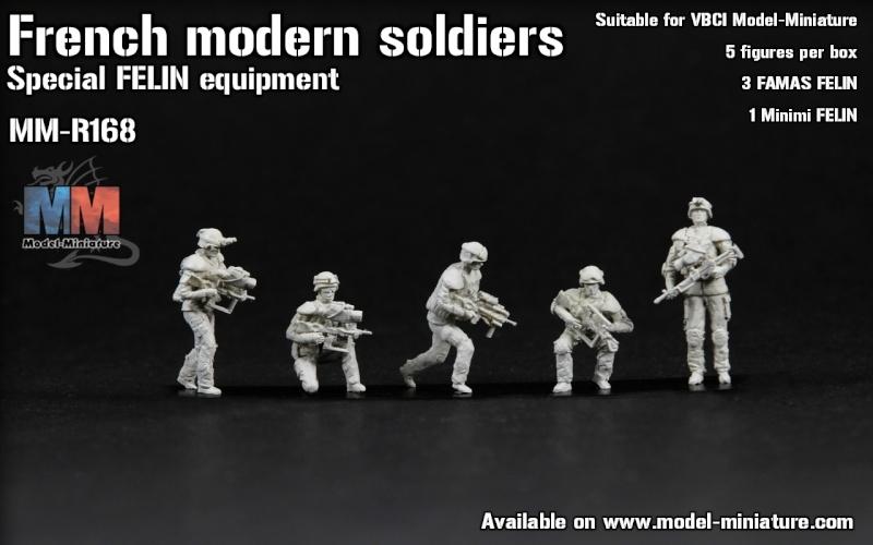 Figurines FELIN, kit AMX-30 FORAD et son DVD Image113