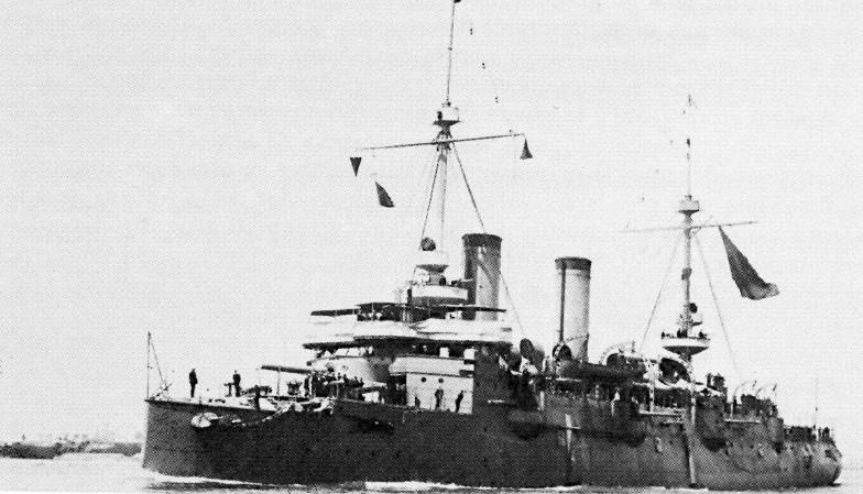 Croiseurs espagnols Carden10