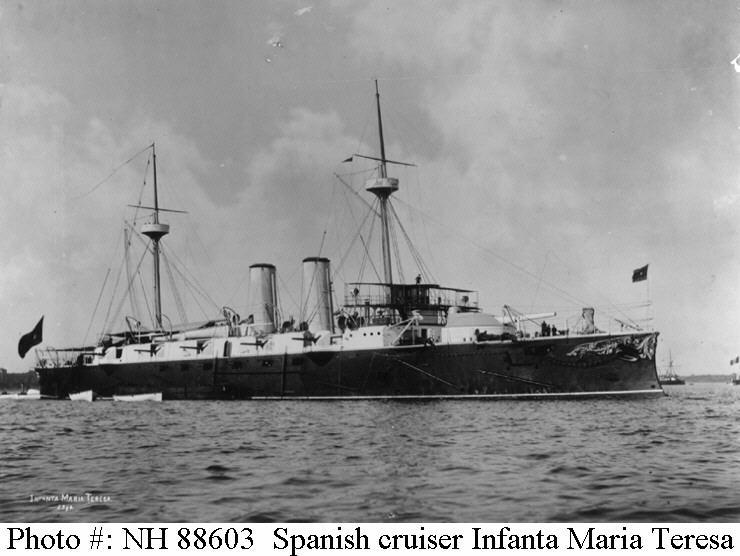 Croiseurs espagnols Infant10