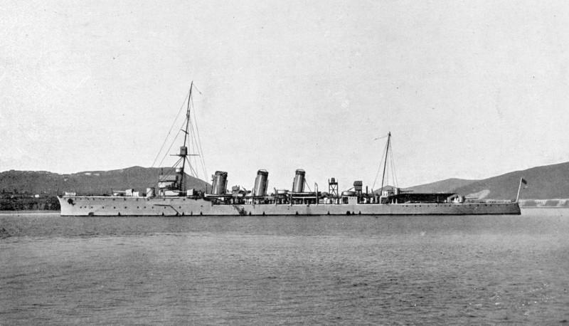Croiseurs espagnols Mendez10
