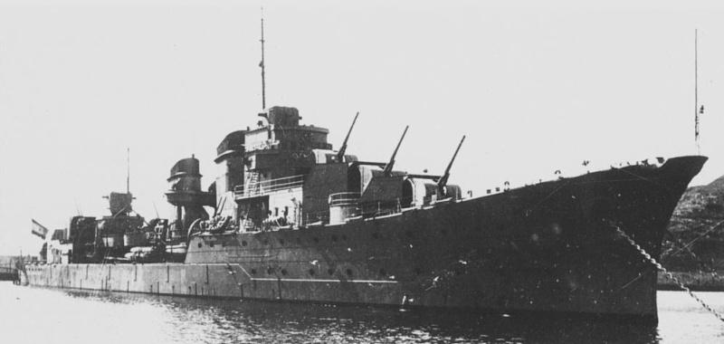 Croiseurs espagnols Mendez11
