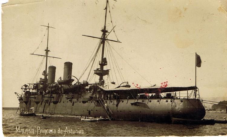 Croiseurs espagnols Prince11