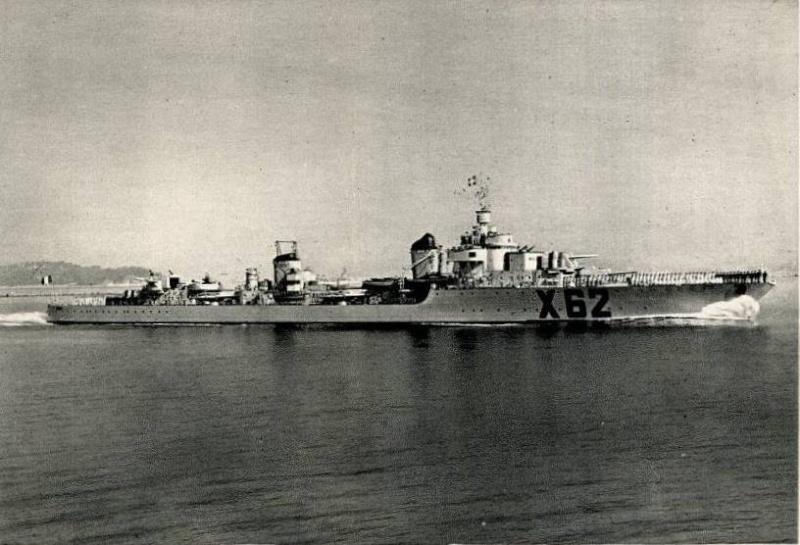 Les contre-torpilleurs français Volta_10