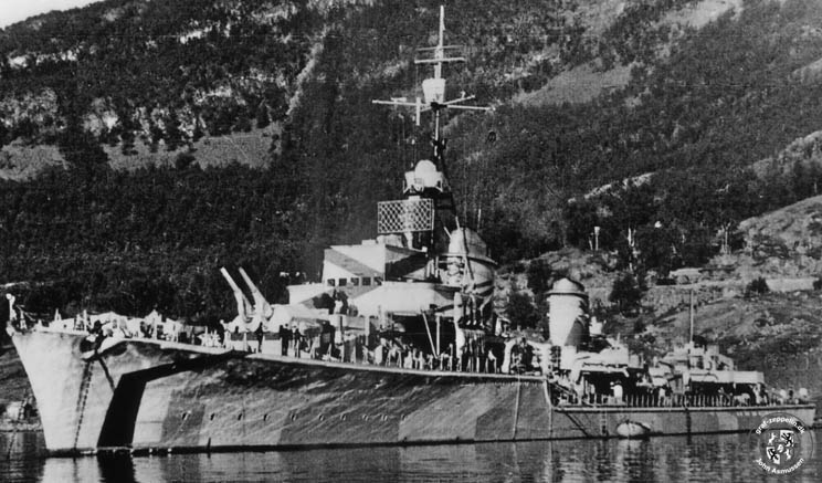 Destroyers allemands Z33_1910