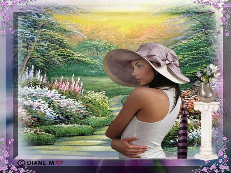 Défi du 27-28 Octobre / Femme au chapeau 0mpt2312