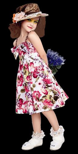 Défi fillette bouquet Fillet10