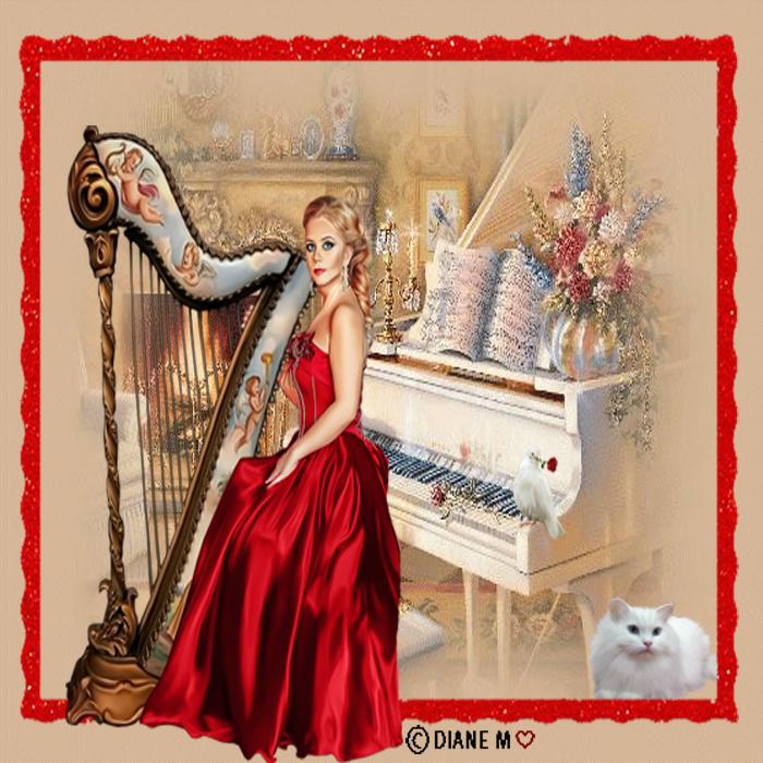 Défi/ Femme à la harpe Mondeg25