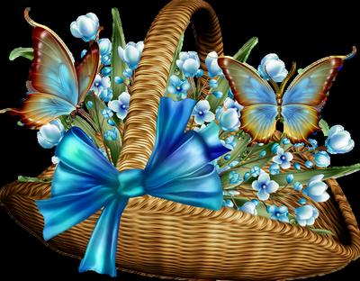 Défi du 25 Octobre / Panier & Papillons Myriam65