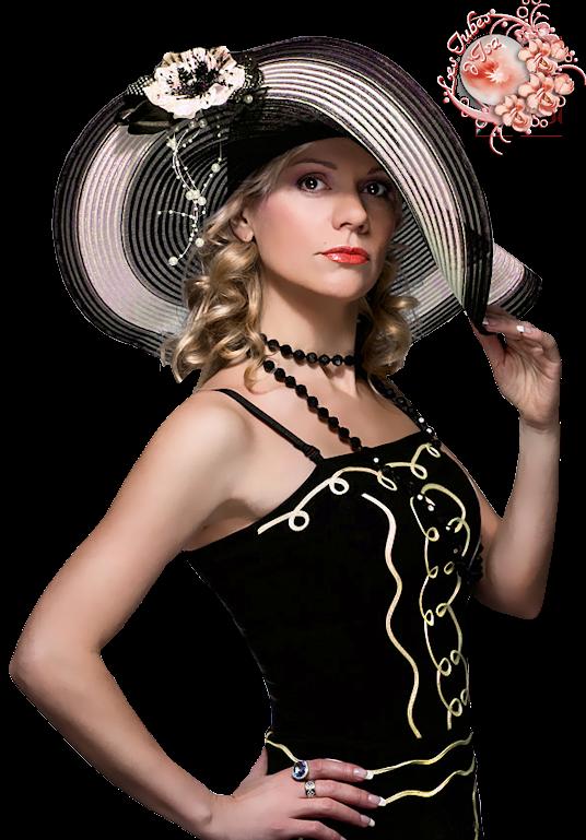 Défi du 5-6 Novembre / Femme au chapeau Nadege13