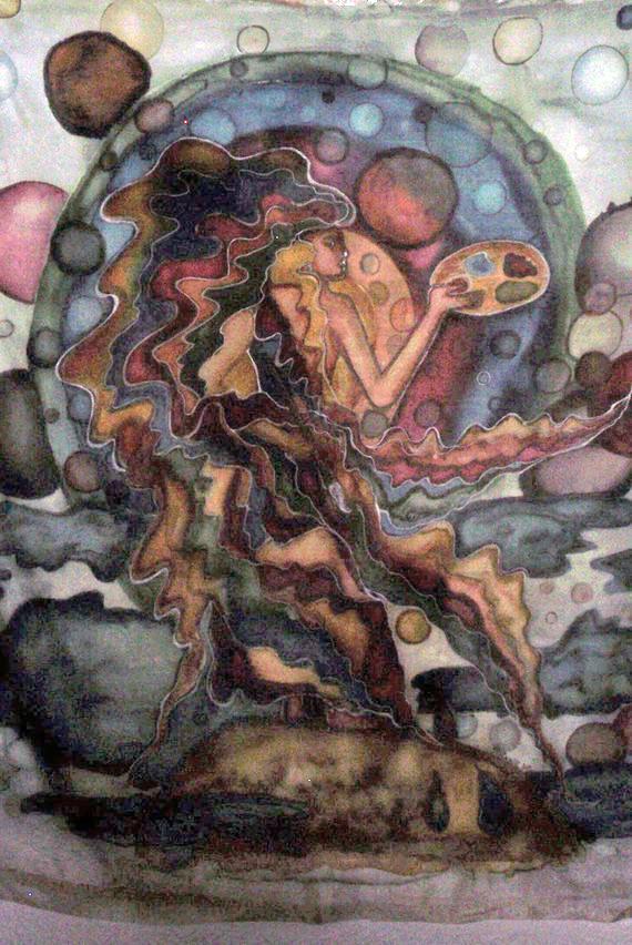 Peindre l'Univers Soie_u10