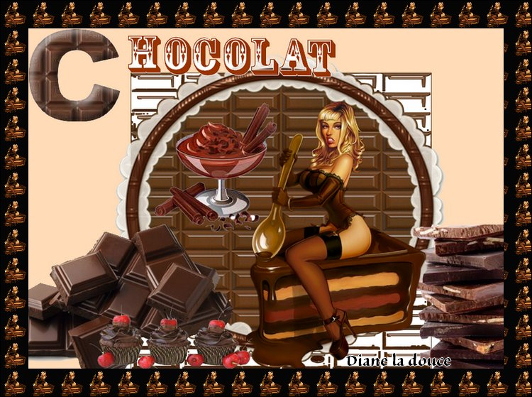 Alphabet animé C / Chocolat Toplet14
