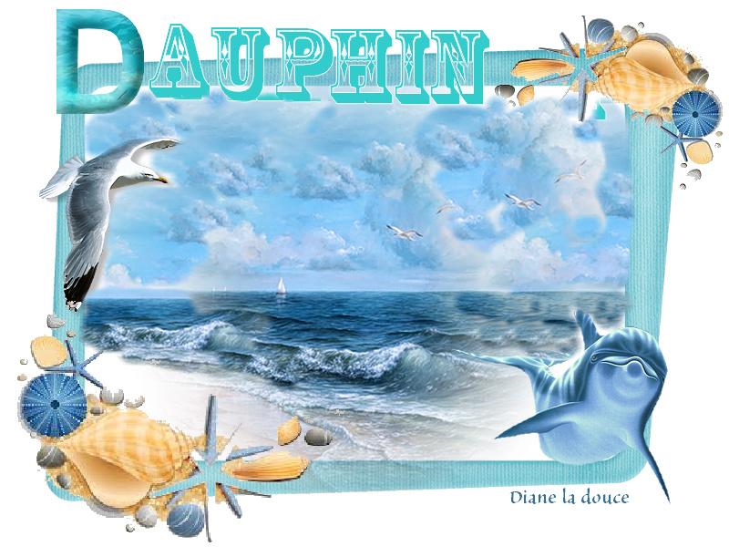 Alphabet animé D /Dauphin Toplet35