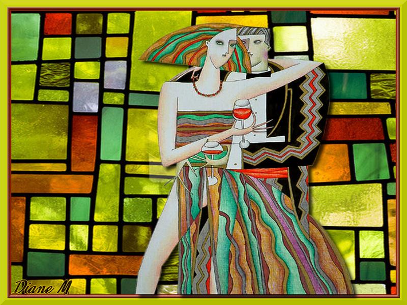 Défi du 21-22 Octobre/ Couple coloré Vaniy157