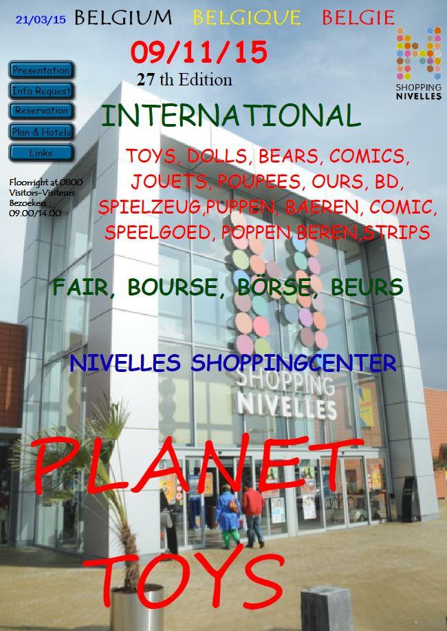 Planet Toys Nivelles 09/11/2015 Bourse11