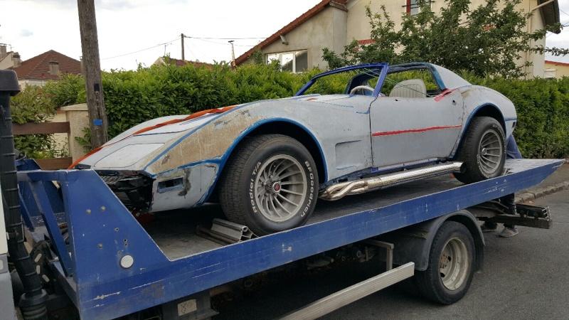 restauration complète Corvette C3 stingray 1977 entres amis - Page 6 20150611