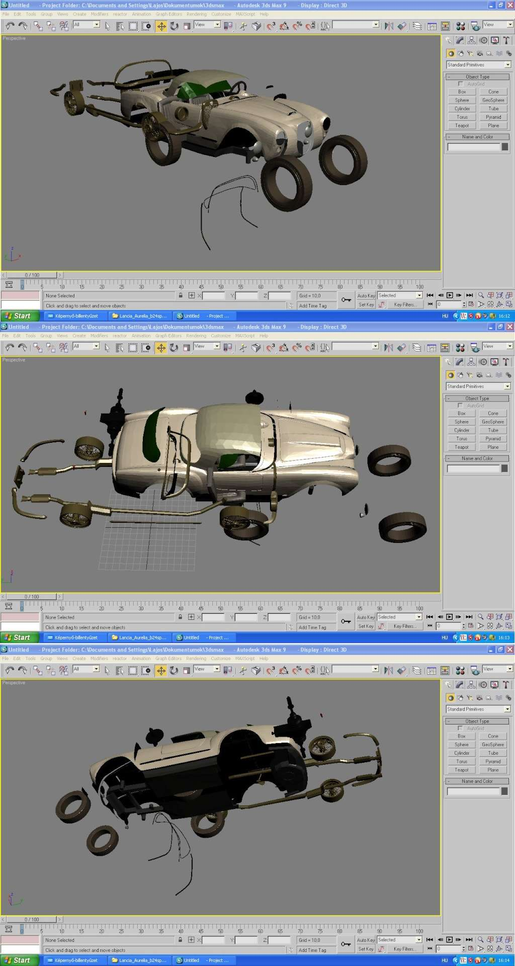 (a project) Lancia Aurelia B24 Spider Lancia11