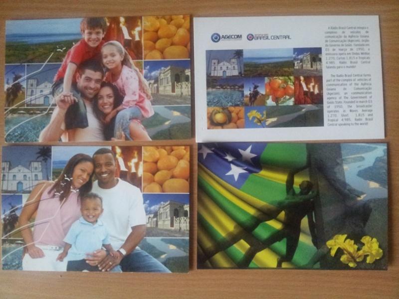 QSL de RBC Radio Brasil Central 20150710