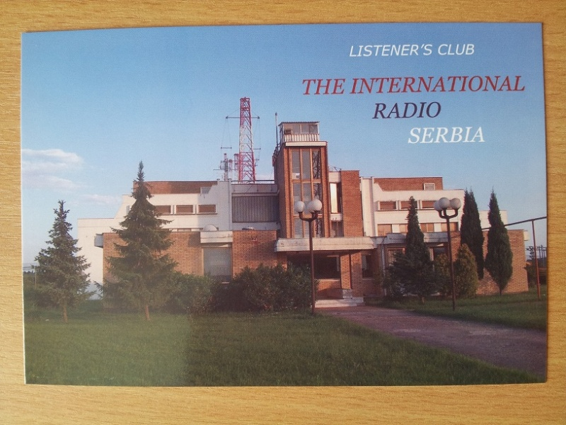 QSL DE radio Serbie internationale  20150811