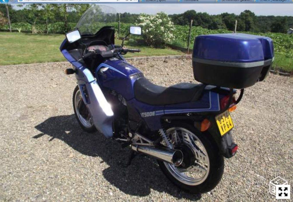 """Honda 500 VTE """"Grand Tourisme"""" Vte210"""