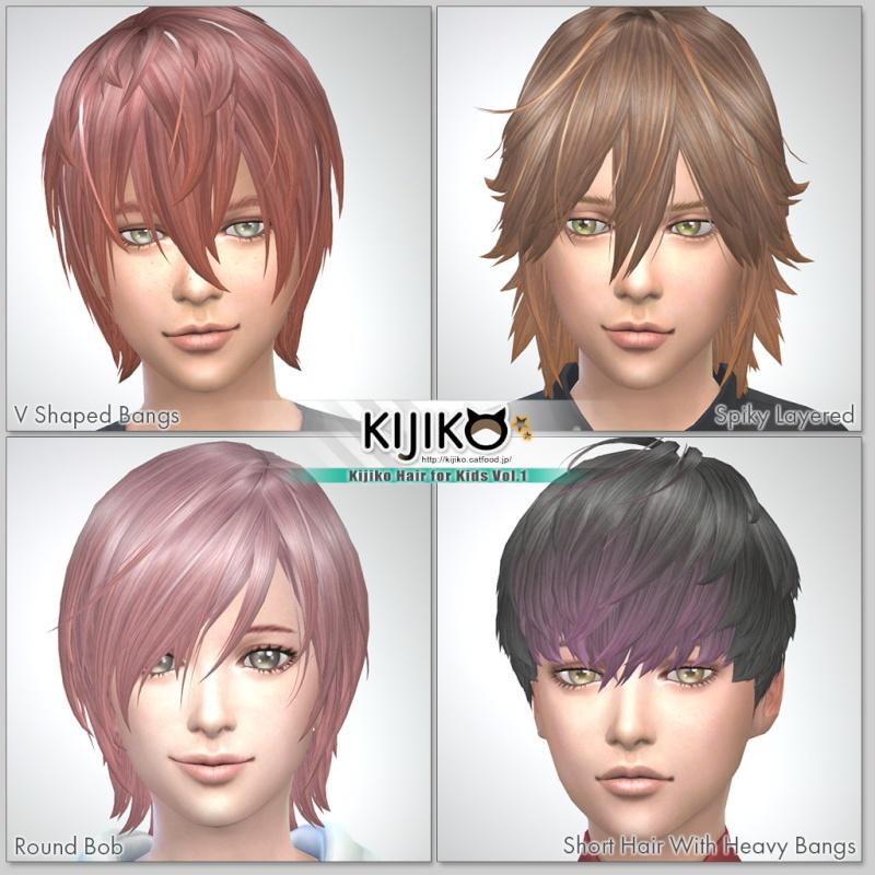 Kijiko Hair for Kids Vol.1  Hair_c10