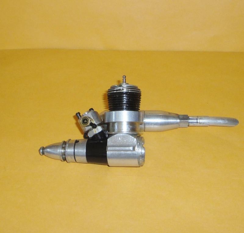 Medallion 15 piston and Tee Dee .09 RC needle valve 06810