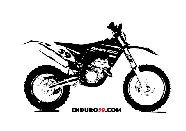 New T-shirt Sherco & KTM Logo_s10