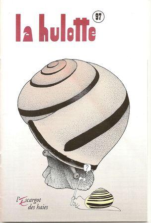 Une revue traitant des terrestres : La Hulotte 97 78106410