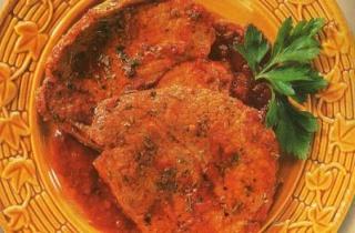 Bistec con salsa de tomate Bistec10