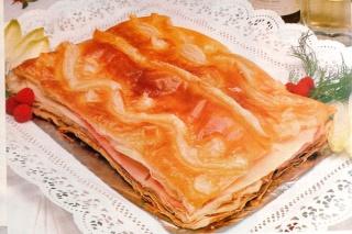 Hojaldre de jamón y queso Hojald10