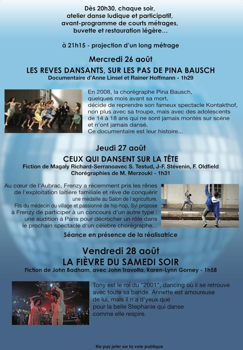 Ciné Danse du 26 au 28 août place J.Jaures  lyon 7 Flyer_13