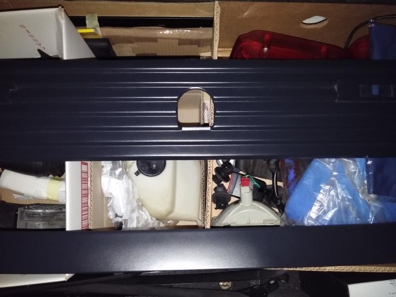 réfection becquet du hayon arrière 20150612